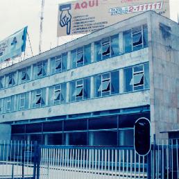 Centro Comercial Carrera después de haber adquirido las bodegas Philips en la Avenida Américas