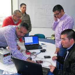 Ingenieros de Cotech, nueva empresa del Grupo Carrera