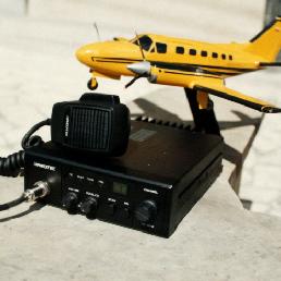 Radioteléfono de los taxis que hacian parte de Radio Taxi Aeropuerto