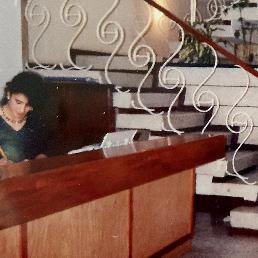 Sede Taxis Libres en el Barrio La Soledad en 1988