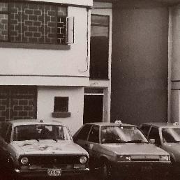Sede de Taxis Libres en el barrio Galerías frente al parqueadero del Estadio El Campín